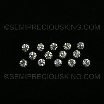 4.50 mm Round Brilliant Excellent Cut 0.38 Carats Genuine Diamonds VS Clarity DEF Color Loose Diamond Wholesale close-out