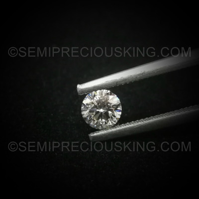 Genuine Diamond 4.50mm 0.38 Carat Round VS Clarity DEF Color Brilliant Cut Wholesale Close-Out Loose Diamond