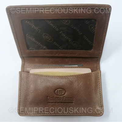 Business Card Holder 110X70mm Made in Italy