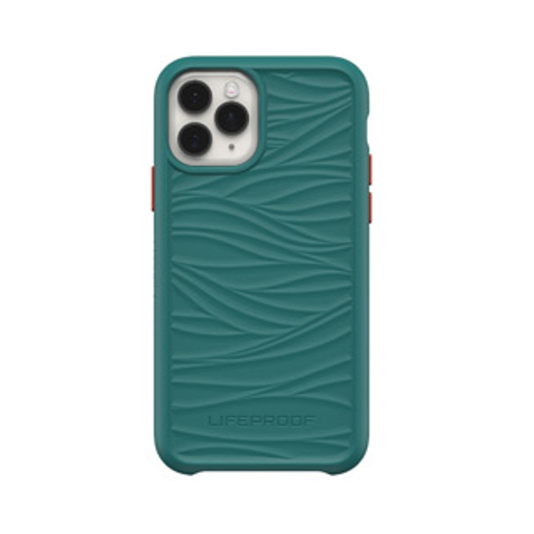 iPhone 11 Pro LifeProof Green/Red (Down Under) Wake Recycled Plastic Case - 15-06950