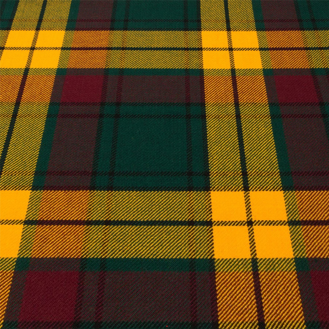 10oz Light Weight Fabric Material MacMillan Hunting Ancient Tartan 1 Metre