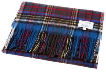 Edinburgh Scarf 100% Lambswool with Anderson Tartan Design
