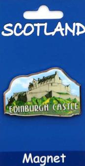 Scottish Fridge Magnet Scottish Edinburgh Castle on a Fridge Magnet