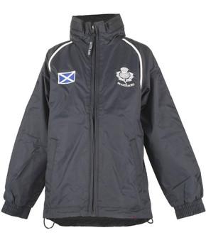 Kids Scotland Windbreaker Jacket Navy
