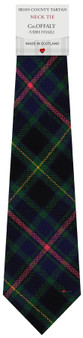 Co Offaly Irish County Pure Wool Tie