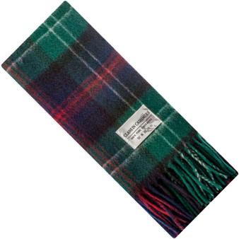 Luxury 100% Cashmere Scottish Clan Scarf Sutherland Old Modern