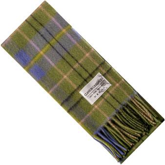 Luxury 100% Cashmere Scottish Clan Scarf Taylor Ancient