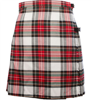 "Ladies Knee 19"" Length Kilt Stewart Dress"