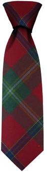 Mens Neck Tie Connemara Irish Tartan Lightweight Scottish Clan Tie