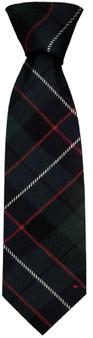 Mens Neck Tie Mitchell Modern Tartan Lightweight Scottish Clan Tie