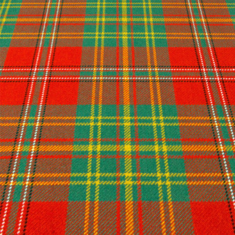Heavy Weight 16oz Fabric Material Leask Ancient Tartan 1 Metre