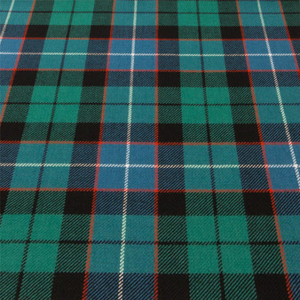 Light Weight 10oz Fabric Material Russell Ancient Tartan 1 Metre