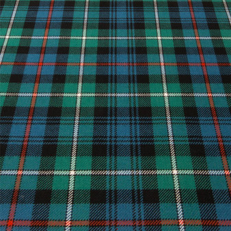 Light Weight 10oz Fabric Material MacKenzie Ancient Tartan 1 Metre