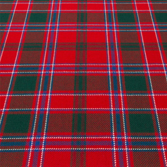 Light Weight 10oz Fabric Material Dalziel Modern Tartan 1 Metre