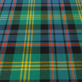 Light Weight 10oz Fabric Material Watson Ancient Tartan 1 Metre