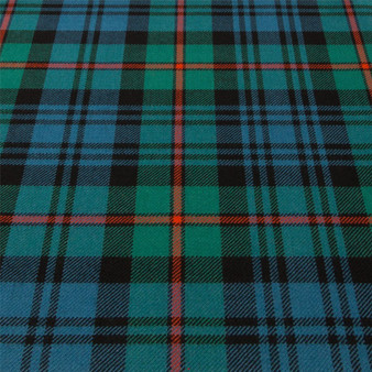 Light Weight 10oz Fabric Material MacKinlay Ancient Tartan 1 Metre