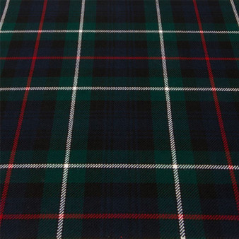 Light Weight 10oz Fabric Material MacKenzie Modern Tartan 1 Metre