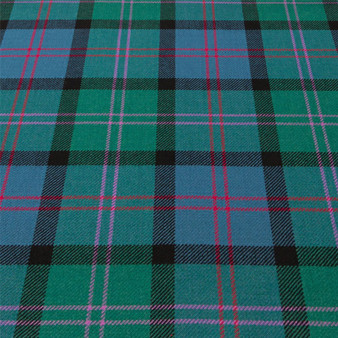 Light Weight 10oz Fabric Material MacThomas Ancient Tartan 1 Metre