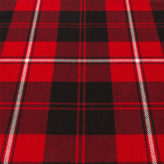 Light Weight 10oz Fabric Material Cunningham Modern Tartan 1 Metre
