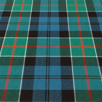 Light Weight 10oz Fabric Material Colquhoun Ancient Tartan 1 Metre