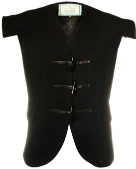 Waistcoat Wool Jacobite Black