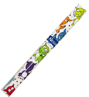 Black Ink Rollerball Pen With Naughty Nessies Loch Ness Macsots Design