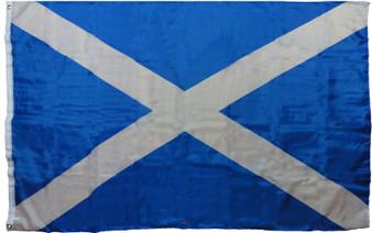 """Medium Flag Saltire 24"""" X 36"""" Saltire Design Scottish Flag"""
