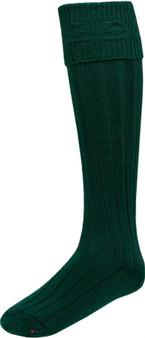 Mens Bottle Green Kilt Hose Socks