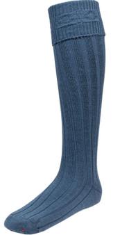 Mens Ancient Blue Kilt Hose Socks