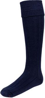 Mens Navy Blue Kilt Hose Socks
