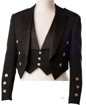Prince Charlie Jacket 100% Wool Kilt Jacket