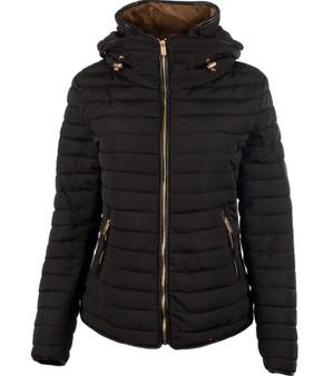 Ladies Fashion Jacket In Pixie Design