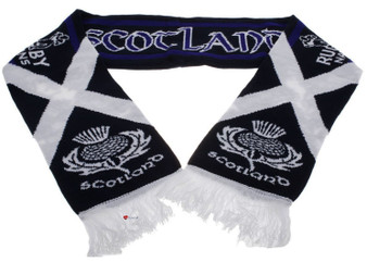 Sports Scarf Scotland Rugby Nations Supporters Scarf Navy