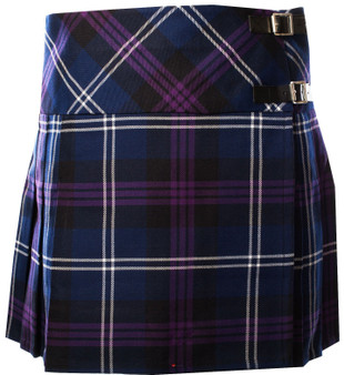 Ladies Deluxe Billie Kilt Tartan Heritage of Scotland