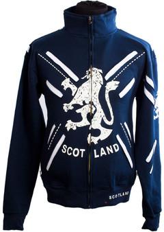 Zipper Top Scotland Lion Layered
