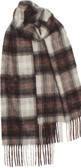 Scottish Soft Cashmere Scarf Graphite Tartan