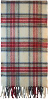 Scottish Soft Cashmere Scarf Stewart Eve Tartan