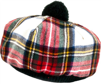 Tammy Hat Stewart Dress Modern Tartan Lambswool