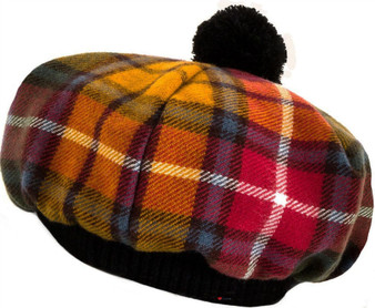 Tammy Hat Buchanan Antique Tartan Lambswool