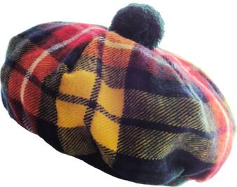 Tammy Hat Buchanan Modern Tartan Lambswool