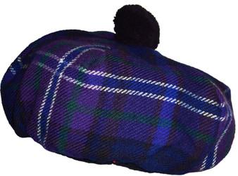 Tammy Hat Scotland Forever Modern Tartan Lambswool