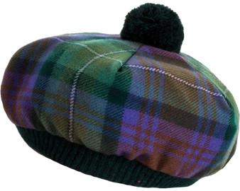 Tammy Hat Isle Of Skye Tartan Lambswool