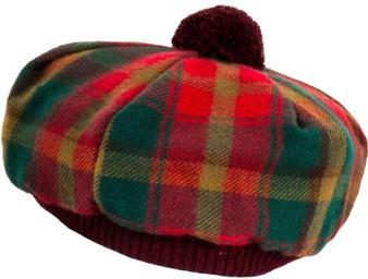 Tammy Hat Maple Leaf Tartan Lambswool