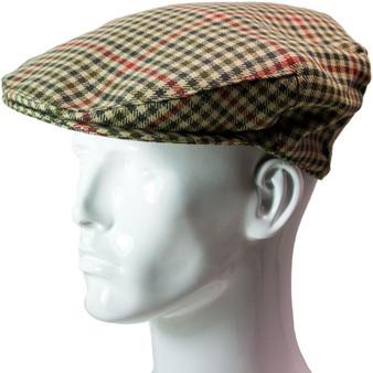 Tweed Flat Cap Mens St Abbs Check