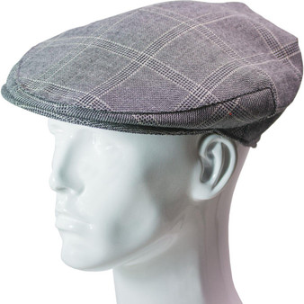Tweed Flat Cap Mens Dornoch Check