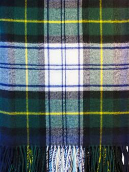 Ladies Shawl Cape Lambswool Gordon Dress Modern Tartan Made To Order