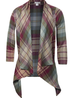 Ladies Kerry Jacket Auld Scotland Tartan