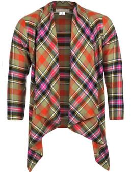 Ladies Kerry Jacket Bruce Of Kinnaird Ancient Tartan