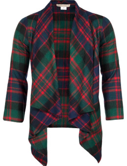 Ladies Kerry Jacket MacDonald Clan Modern Tartan