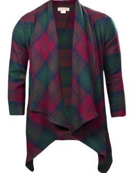 Ladies Kerry Jacket Lindsay Modern Tartan